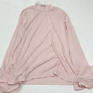 1. state light pink blouse